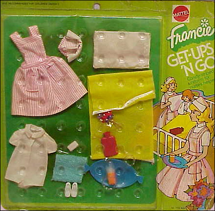 одежда для винтажной куклы шестидесятых