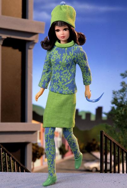 Фото коллекционной куклы Francie Фрэнси