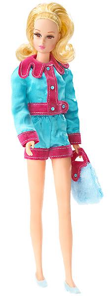 Фото коллекционной куклы Francie Фрэнси стиль мод