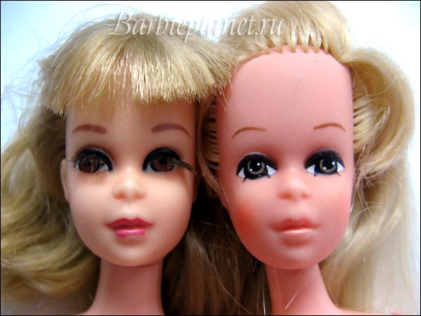 Сравнение винтажных кукол Фрэнси и Пегги