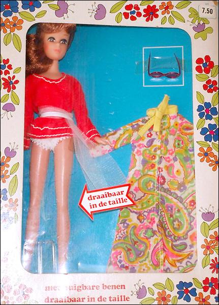 Кукла подделка винтажная Пегги