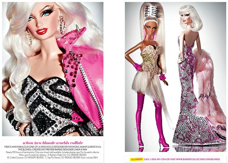 Куклы Барби The Blonds коллекционные