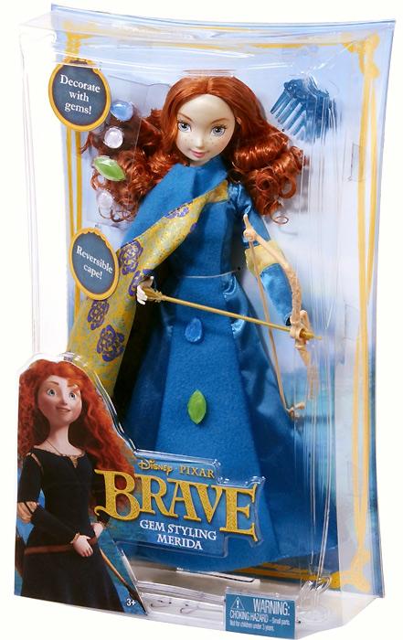 Кукла Мерида Храбрая Сердцем с украшениями
