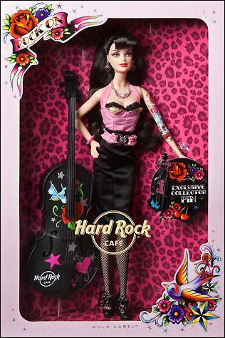 Коллекционная кукла Hard Rock Cafe Barbie 2009