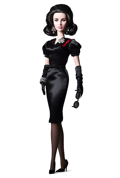 Коллекционная Барби Silkstone Elizabeth Taylor Violet Eyes