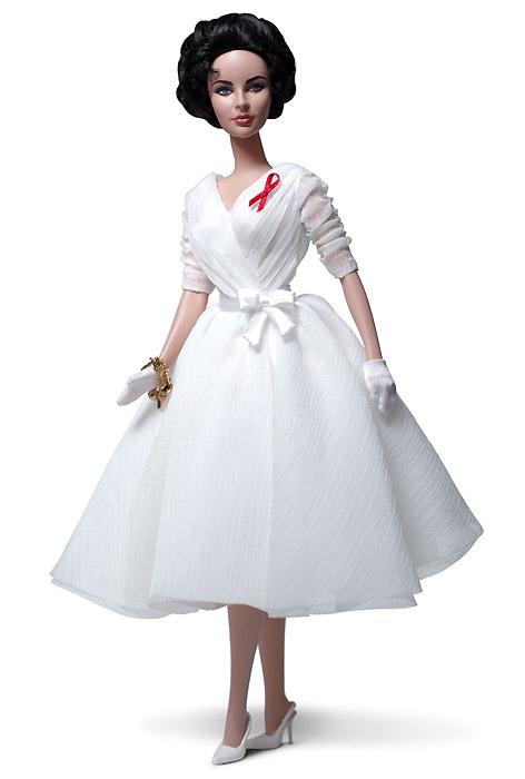 Новые куклы Элизабет Тейлор: BFMC 2012 Elizabeth Taylor Barbie (Silkstone)