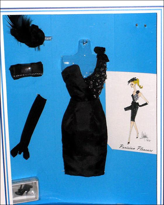 Одежда для Барби коллекционная Франция