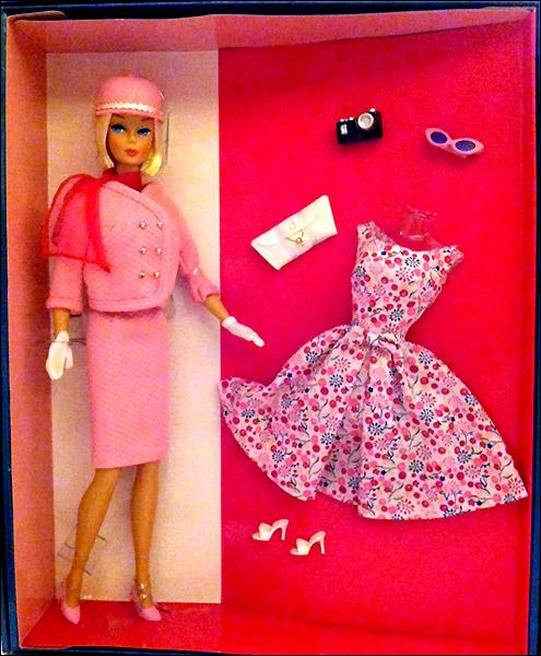 Коллекционная кукла Барби Barbie Passport to Pink