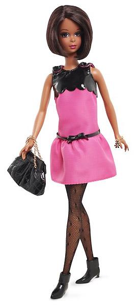 Фото коллекционной куклы Fuchsia Fur Francie