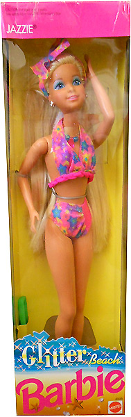 Кукла 90-х Маттел Glitter Beach Jazzie