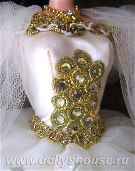 Лиф платья коллекционной Барби Сисси