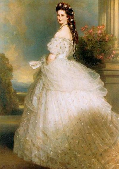 Императрица Сисси портрет