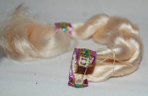 Волосы куклы Барби Rapunzel Barbie 1994 как выглядят