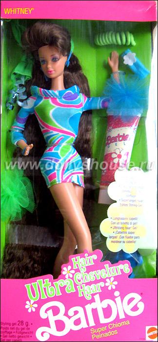 барби из Лолы Ultra Hair Whitney брюнетка с волосами до пят