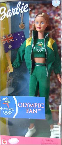 Барби Олимпийские Игры болельщица