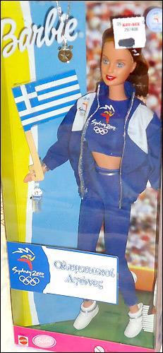Кукла Барби Олимпийские Игры болельщица