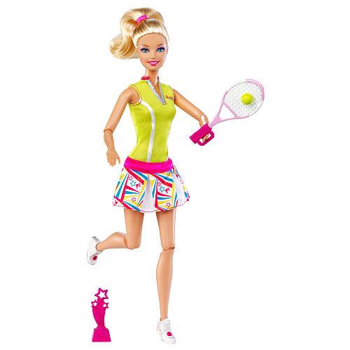 Кукла Барби теннис