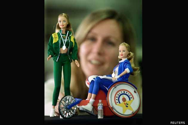 куклы Барби паралимпийские игры и болельщица