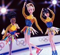 Куклы Барби на олимпиаде в Солт Лейк Сити