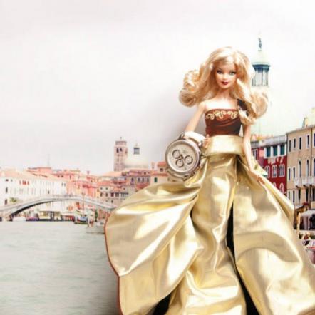 Коллекционная кукла Барби Праздничная и элитные часы