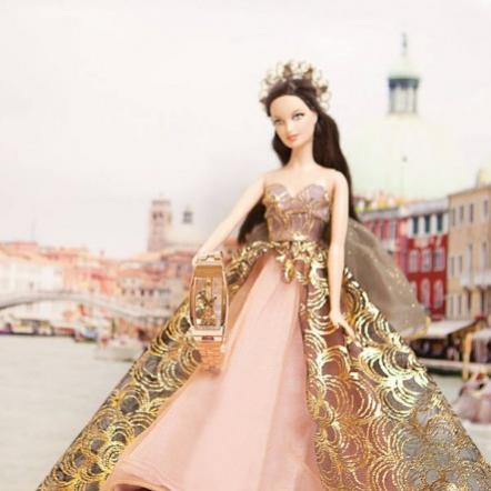 Коллекционная кукла Барби Couture Angel Barbie и элитные часы
