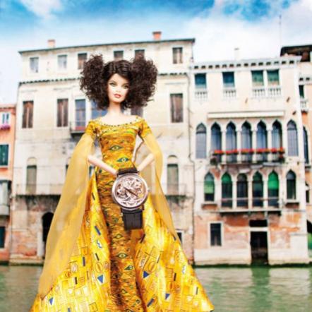 Коллекционная кукла Барби Климт и элитные часы