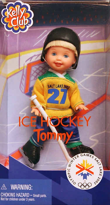 Кукла мальчик хоккеист Олимпиада