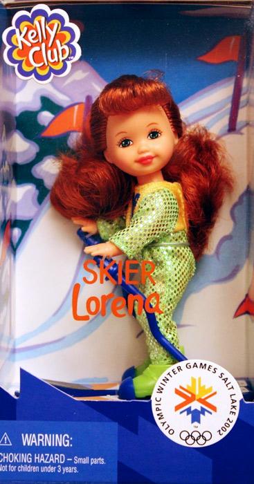 Кукла лыжница Лорена Олимпиада Солт Лейк Сити