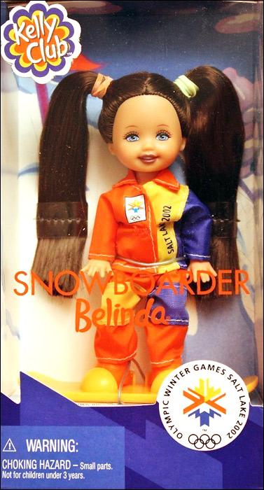 Кукла сноуборд Белинда зимняя Олимпиада