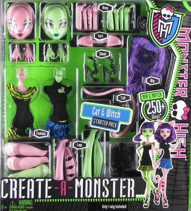 Набор сделай монстра куклы
