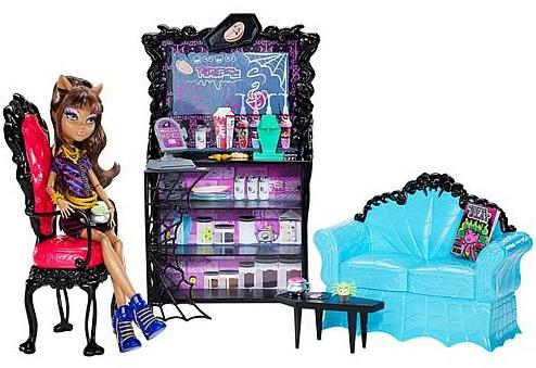кукла Клодин и гостиная набор