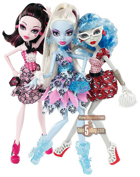 Куклы Монстр Хай набор Dot Dead Gorgeous