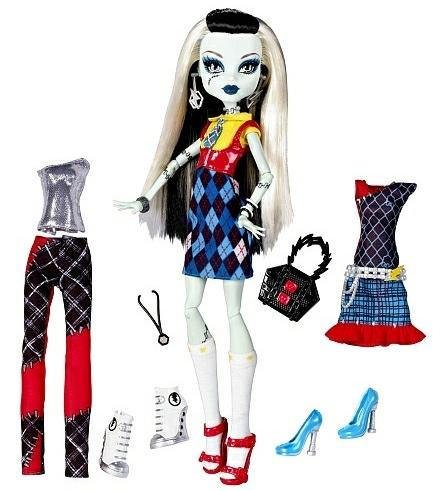 Эксклюзивная кукла Школа Монстров Френки Я Люблю Моду