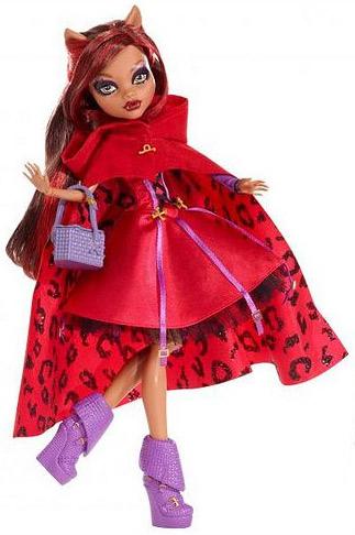 Коллекционная кукла Школа Монстров Красная Шапочка Клодин