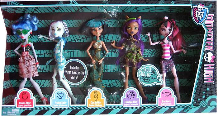 эксклюзивный сет Monster High Target