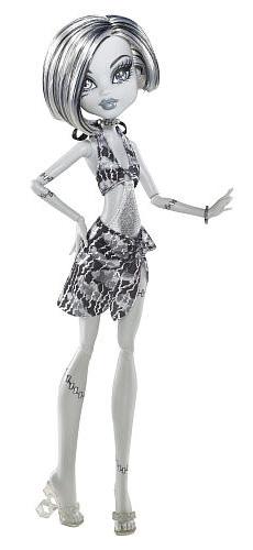 Черно белая кукла Френки Monster High