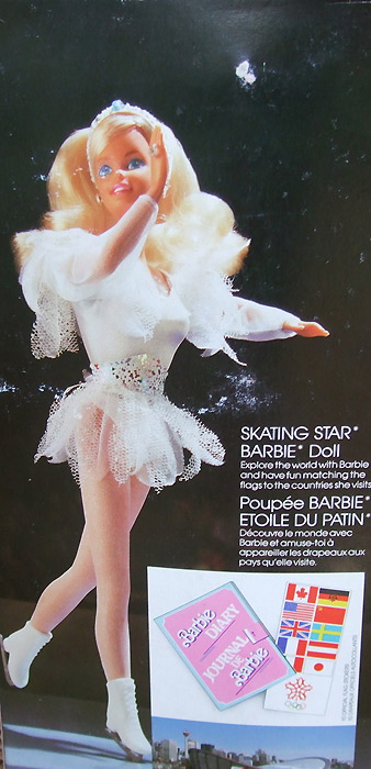 Кукла Барби фигуристка Skating Star Barbie