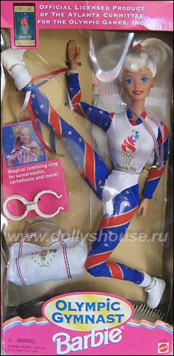 Кукла Барби для Олимпиады гимнастка шарнирная