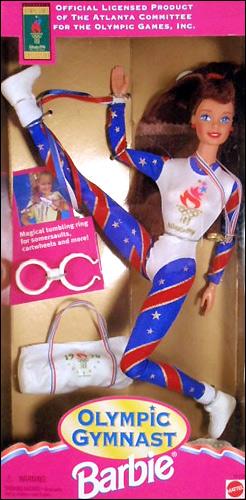 Кукла Барби шарнирная олимпийская гимнастка