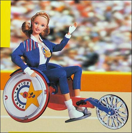 Кукла паралиммпийские игры Paralympic Champion Becky