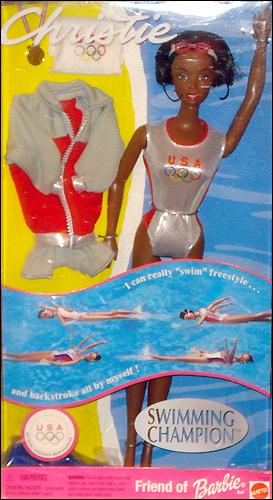 Кукла Кристи пловчиха Олимпийские игры