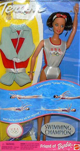Олимпийские игры в Сиднее кукла Тереза пловчиха