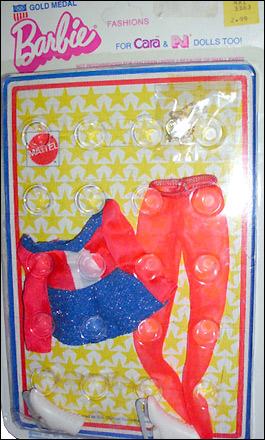 Одежда для куклы Барби для олимпийских игр