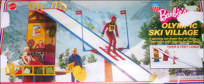 Кукольный набор олимпийские игры зимняя трасса