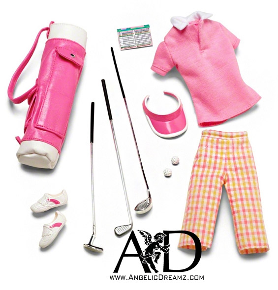 Набор аксессуаров для Барби гольф Barbie Look Golf Accessory Pack