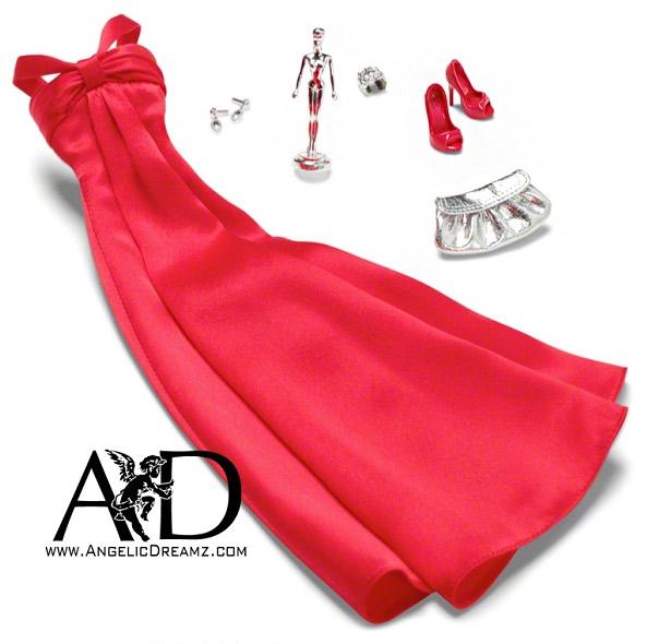 Фото аксессуаров и одежды для коллекционной куклы Барби новинка