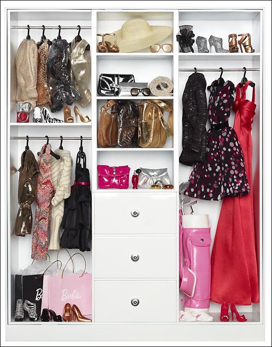 Шкаф для Барби коллекционной