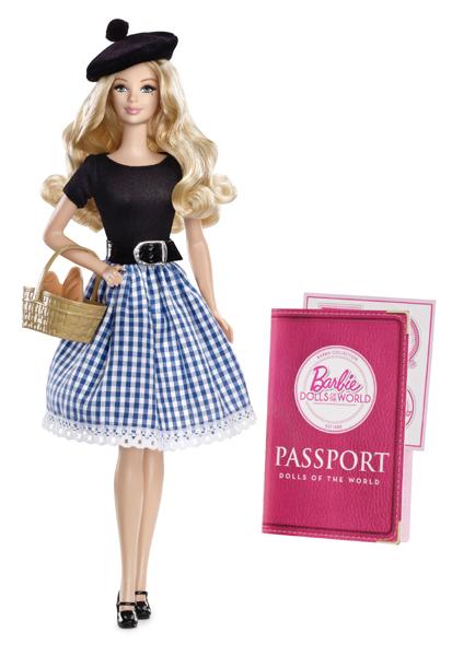 Коллекционная кукла Барби Франция