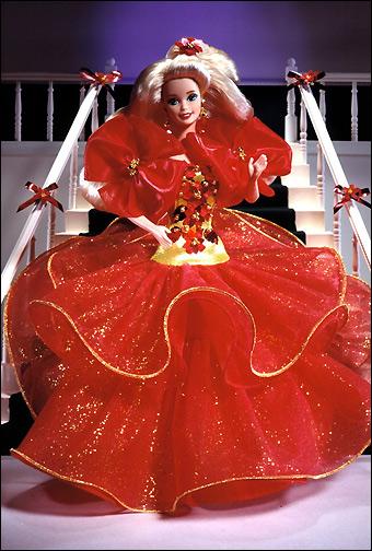 Коллекционная кукла Happy Holidays Barbie 1993