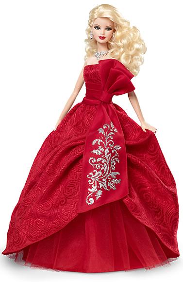 Коллекционная кукла Барби Holiday Barbie 2012